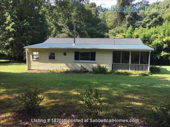 Sweet Sunny Home on  3.5 Acres in Orange County, NC Home Rental in Hillsborough, North Carolina, United States 0