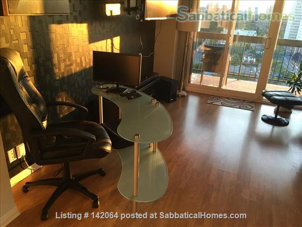 1BR+ Furnished Stylish Upper-Floor Condo with Beautiful View of Ottawa,  Rideau River & Gatineau Hills  - Avail Jan 2021 Home Rental in Ottawa, Ontario, Canada 1