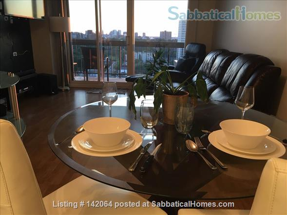 1BR+ Furnished Stylish Upper-Floor Condo with Beautiful View of Ottawa,  Rideau River & Gatineau Hills  - Avail Jan 2021 Home Rental in Ottawa, Ontario, Canada 3