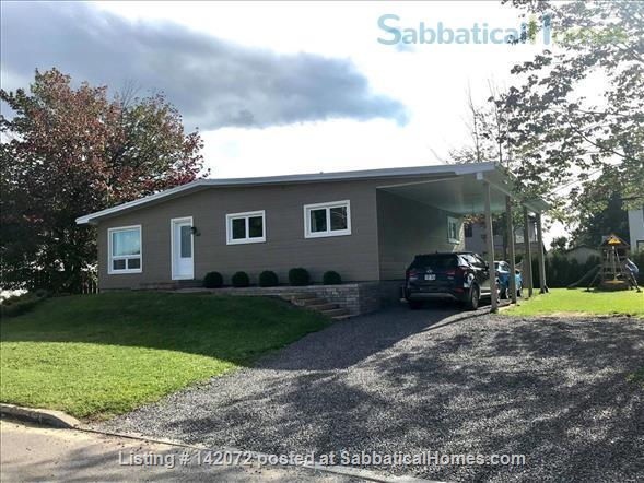 Modern & Spacious 4BR Family Home fully furnished & equiped close to Quebec City Home Rental in Quebec City, Quebec, Canada 1
