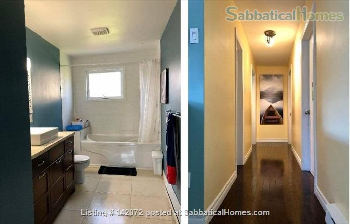 Modern & Spacious 4BR Family Home fully furnished & equiped close to Quebec City Home Rental in Quebec City, Quebec, Canada 4