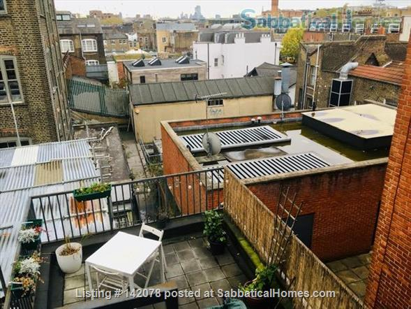 Beautiful apartment in London with stunning view over the city Home Rental in Chalk Farm, England, United Kingdom 6