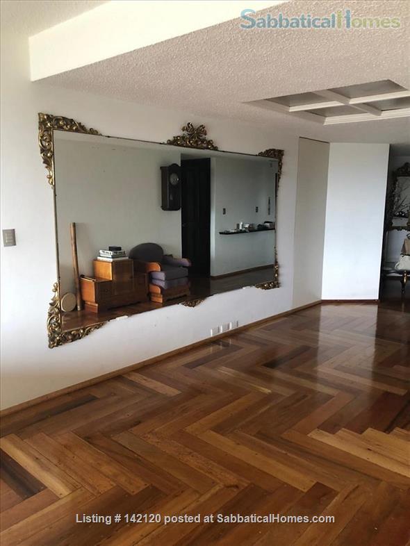 Very spacious, furnished family apartment in Mexico City Home Rental in Ciudad de México, Ciudad de México, Mexico 9