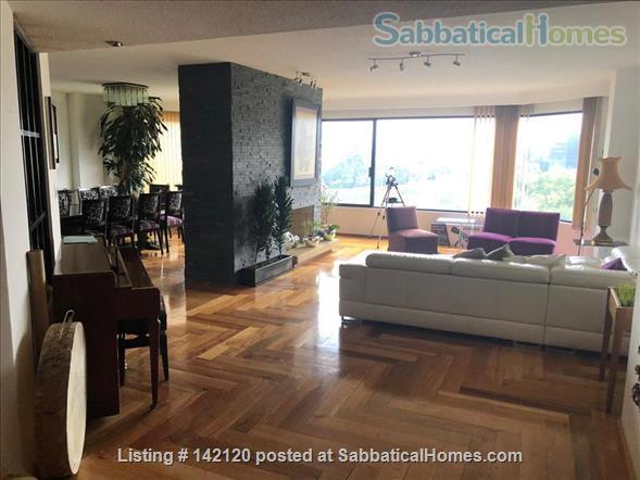 Very spacious, furnished family apartment in Mexico City Home Rental in Ciudad de México, Ciudad de México, Mexico 3