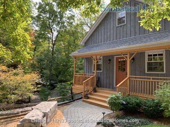 Luxury Cottage in the Woods Home Rental in Perth Road, Ontario, Canada 1