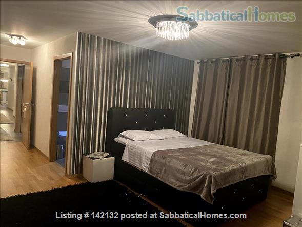 Fully furnished upscale flat for rent with 3 bedrooms and magnificent view near Lausanne, Vevey Home Rental in Chardonne, VD, Switzerland 5