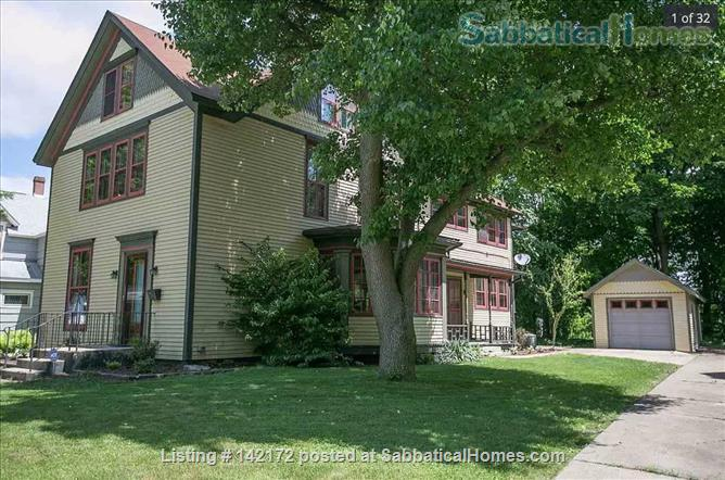 Historic Home near downtown SB and Notre Dame campus Home Rental in South Bend, Indiana, United States 1
