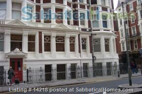 Two bedroom Bloomsbury flat, Central London, WC1 Home Rental in London, England, United Kingdom 1