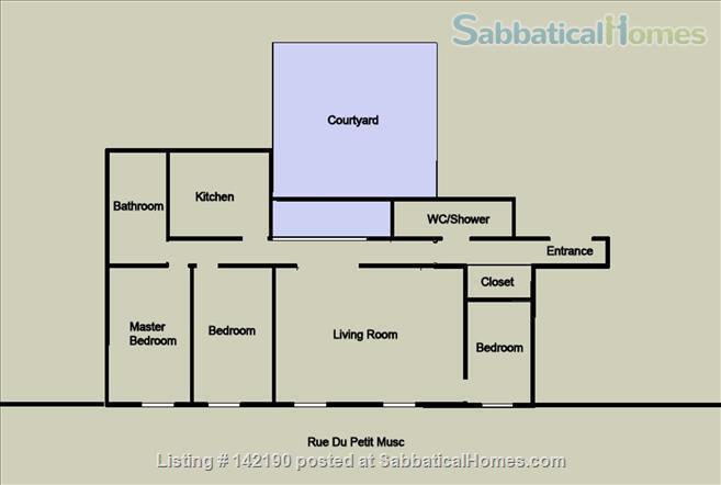 FACING ISLE ST. LOUIS - ELEGANT 3 BEDS 2 BATHS - 1100sq ft. APARTMENT Home Rental in Paris, Île-de-France, France 8