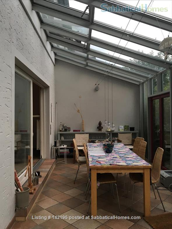 Beautiful little house with large conservatory/library and garden Home Rental in Hamburg, HH, Germany 4