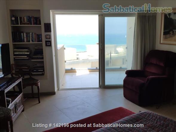 Gorgeous Herzeliya Flat on the Ocean with Full Views Home Rental in Herzliya, Tel Aviv District, Israel 1