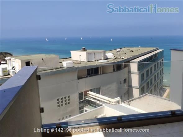 Gorgeous Herzeliya Flat on the Ocean with Full Views Home Rental in Herzliya, Tel Aviv District, Israel 0