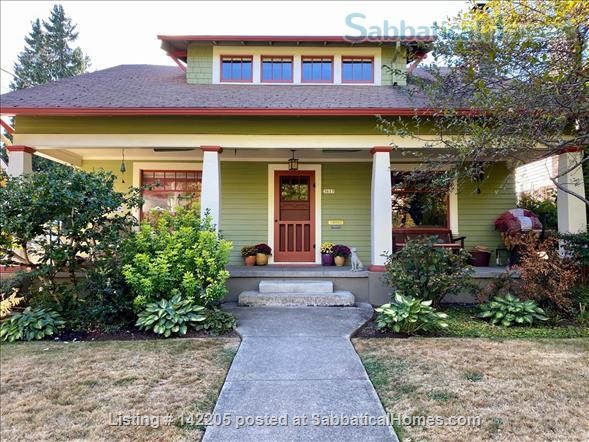 Portland Craftsman Home for Rent  Home Rental in Portland 1 - thumbnail