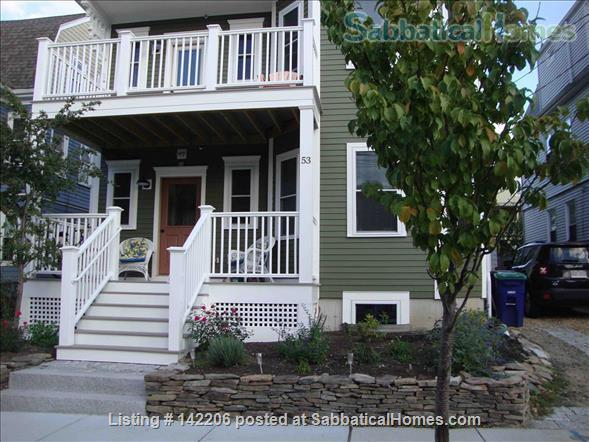 Furnished, bright, spacious, easy T-access to Boston & Cambridge Home Rental in Somerville, Massachusetts, United States 1
