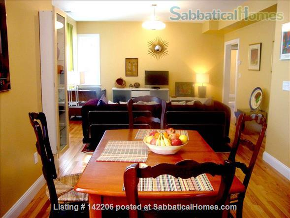 Furnished, bright, spacious, easy T-access to Boston & Cambridge Home Rental in Somerville, Massachusetts, United States 0