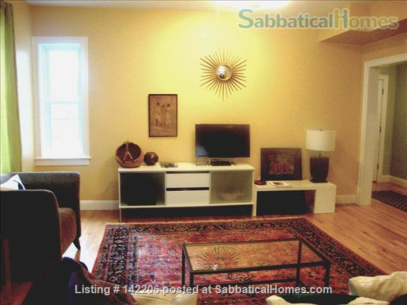 Furnished, bright, spacious, easy T-access to Boston & Cambridge Home Rental in Somerville, Massachusetts, United States 3