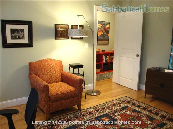 Furnished, bright, spacious, easy T-access to Boston & Cambridge Home Rental in Somerville, Massachusetts, United States 4