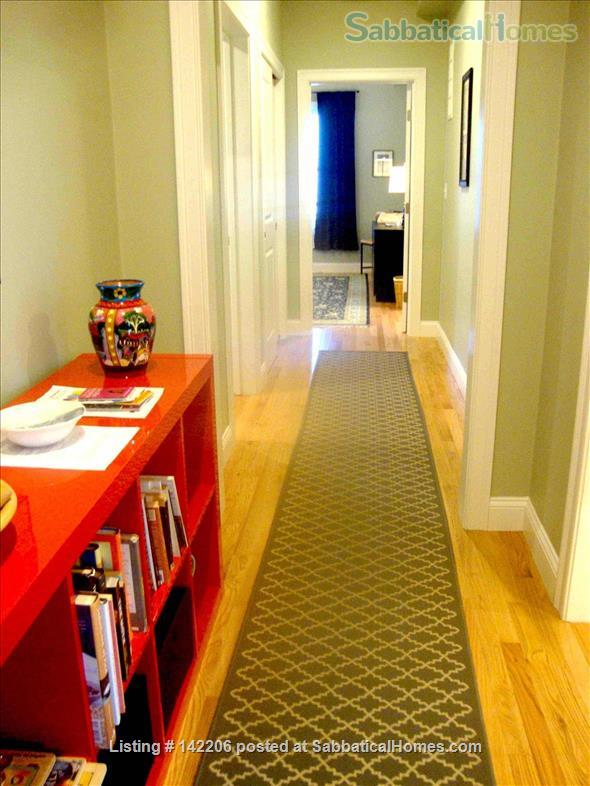 Furnished, bright, spacious, easy T-access to Boston & Cambridge Home Rental in Somerville, Massachusetts, United States 5