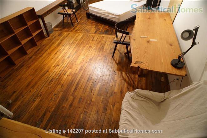 Furnished Apartment-sized room in Artist's Loft Williamsburg, Brooklyn Home Rental in Williamsburg, New York, United States 1