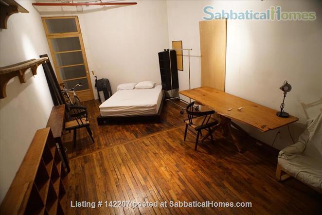 Furnished Apartment-sized room in Artist's Loft Williamsburg, Brooklyn Home Rental in Williamsburg, New York, United States 2