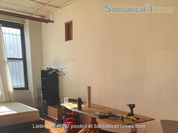 Furnished Apartment-sized room in Artist's Loft Williamsburg, Brooklyn Home Rental in Williamsburg, New York, United States 6