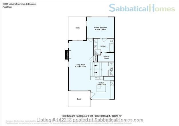 U of A - Modern 3 bedroom House - Utilities Included  Home Rental in Edmonton, Alberta, Canada 8