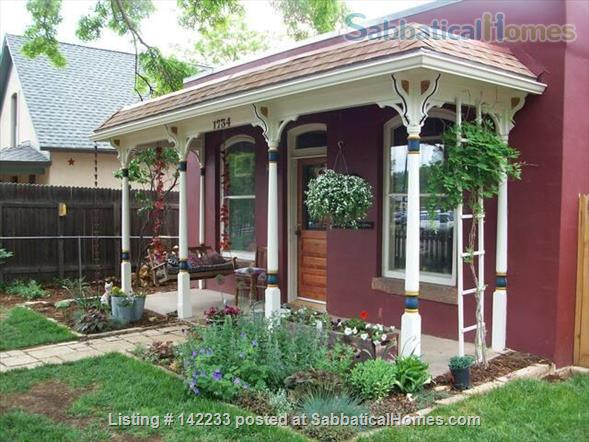Rented for Academic Year 2021-2022: Charming in Downtown Boulder Home Rental in Boulder, Colorado, United States 1