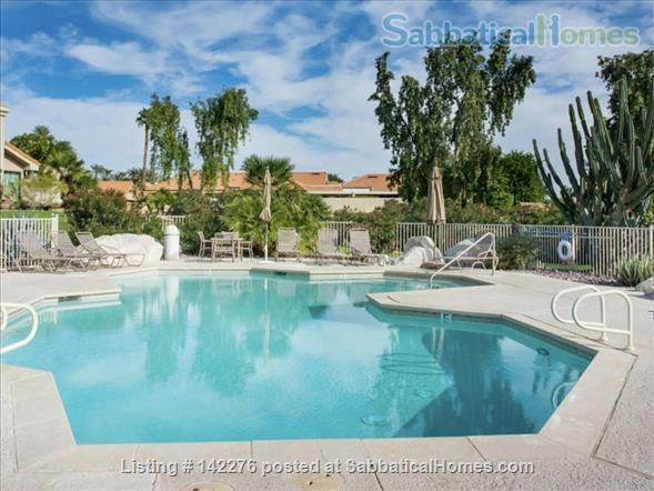 Palm Desert Private Villa: Two workspaces, strong wifi Home Rental in Palm Desert, California, United States 1