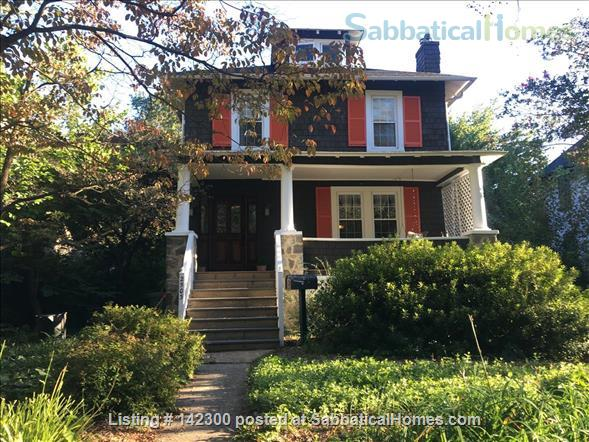 Beautiful 3 bedroom garden home in Baltimore Home Rental in Baltimore, Maryland, United States 1