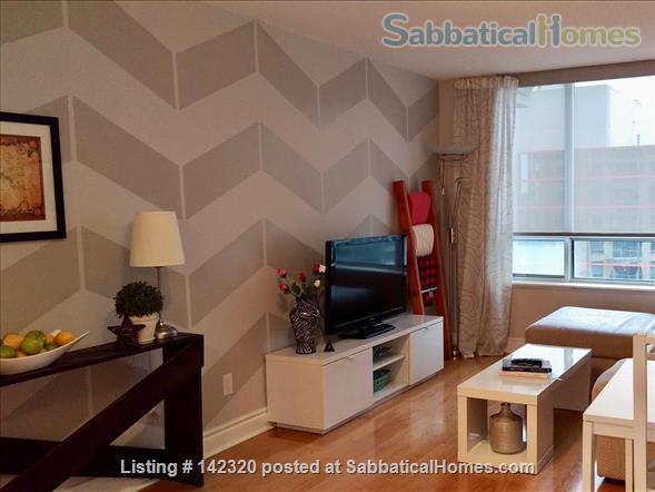 RARE 650 SQUARE FEET 1 Bed, 1 BATH condo in Toronto Home Rental in Toronto, Ontario, Canada 0