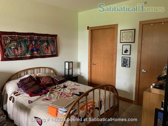 Sunny flat overlooking a park with a lovely lake Home Rental in Madison, Wisconsin, United States 4