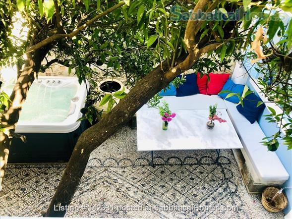 Beautiful and luxurious traditional villa in the prettiest village of Rhodes - ideal for writing and reflection in a quiet paradise; with beaches, UNESCO-listed Rhodes town and airport nearby.  Home Rental in Rhodes, , Greece 1