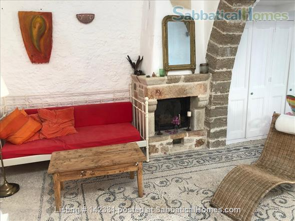 Beautiful and luxurious traditional villa in the prettiest village of Rhodes - ideal for writing and reflection in a quiet paradise; with beaches, UNESCO-listed Rhodes town and airport nearby.  Home Rental in Rhodes, , Greece 2