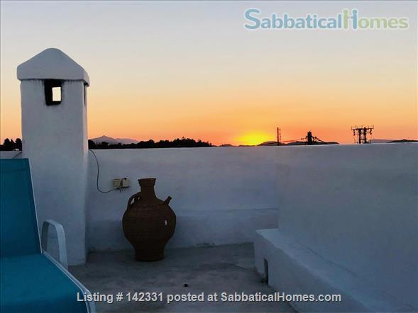 Beautiful and luxurious traditional villa in the prettiest village of Rhodes - ideal for writing and reflection in a quiet paradise; with beaches, UNESCO-listed Rhodes town and airport nearby.  Home Rental in Rhodes, , Greece 5
