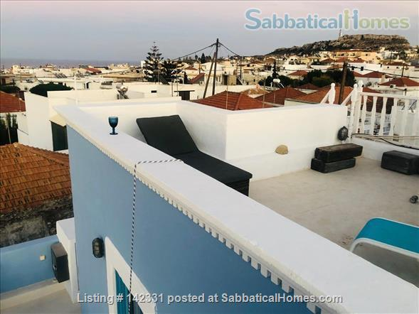 Beautiful and luxurious traditional villa in the prettiest village of Rhodes - ideal for writing and reflection in a quiet paradise; with beaches, UNESCO-listed Rhodes town and airport nearby.  Home Rental in Rhodes, , Greece 6