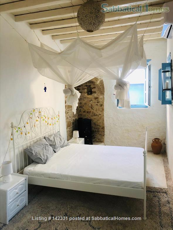 Beautiful and luxurious traditional villa in the prettiest village of Rhodes - ideal for writing and reflection in a quiet paradise; with beaches, UNESCO-listed Rhodes town and airport nearby.  Home Rental in Rhodes, , Greece 7