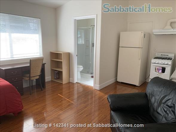 Studio apartment in detached cottage in Palo Alto Home Rental in Palo Alto, California, United States 2