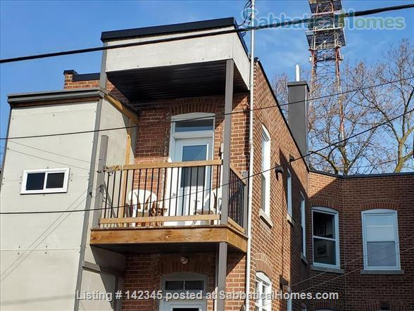Charming and sunny 2 bedroom upper duplex apartment in Notre-Dame-de-Grâce (NDG) Home Rental in Montreal, Quebec, Canada 9