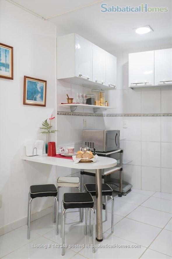 Studio in Gávea: lots of green and tranquility Home Rental in Gávea, RJ, Brazil 9