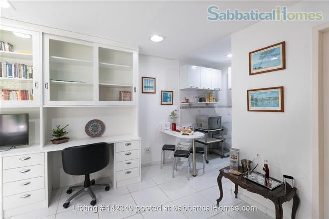 Studio in Gávea: lots of green and tranquility Home Rental in Gávea, RJ, Brazil 0
