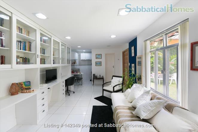 Studio in Gávea: lots of green and tranquility Home Rental in Gávea, RJ, Brazil 2