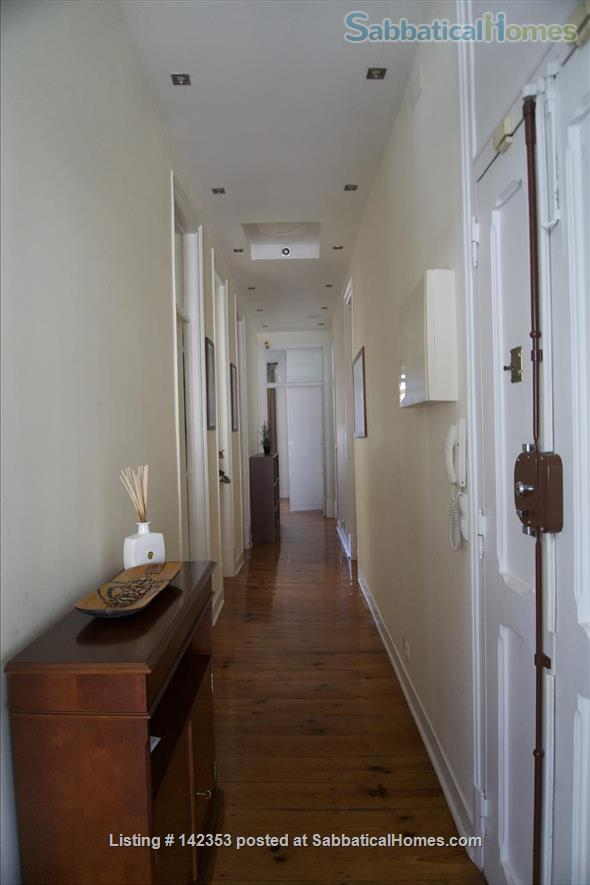 Sunny 3 bedroom+1office apartment in central Lisbon – 1600€/month Home Rental in Lisbon, Lisboa, Portugal 0