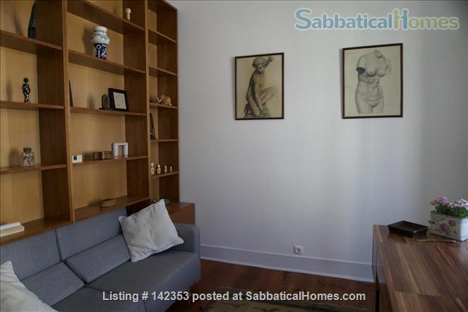 Sunny 3 bedroom+1office apartment in central Lisbon – 1600€/month Home Rental in Lisbon, Lisboa, Portugal 2