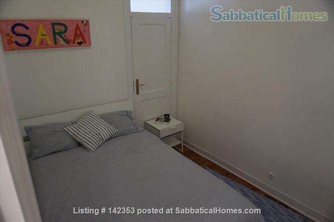 Sunny 3 bedroom+1office apartment in central Lisbon – 1600€/month Home Rental in Lisbon, Lisboa, Portugal 4
