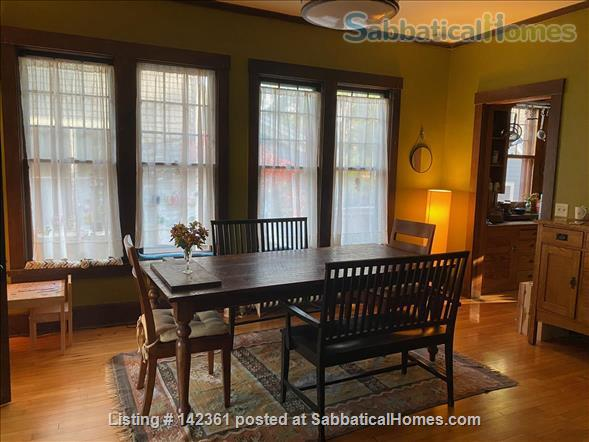 Beautiful 100 year old bungalow on Madison's near east side Home Rental in Madison, Wisconsin, United States 1