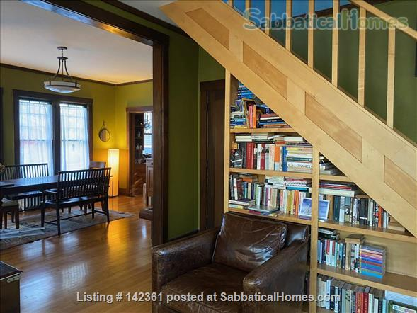 Beautiful 100 year old bungalow on Madison's near east side Home Rental in Madison, Wisconsin, United States 2
