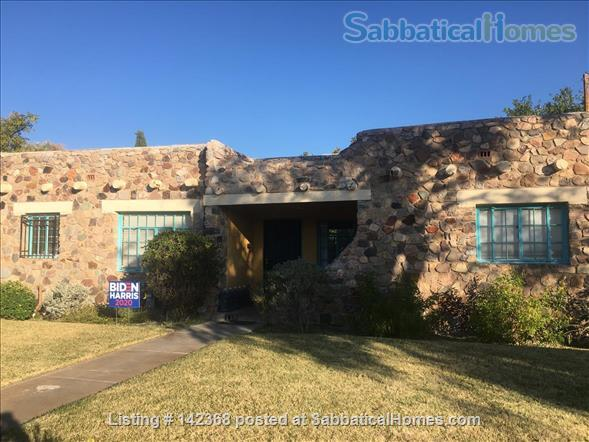 Lovely 1940s home in historic district of Las Cruces, NM Home Rental in Las Cruces, New Mexico, United States 1