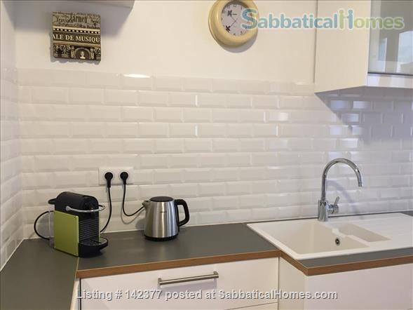 Gorgeous 1 Bedroom flat in best Ecusson location Home Rental in Montpellier, Occitanie, France 4