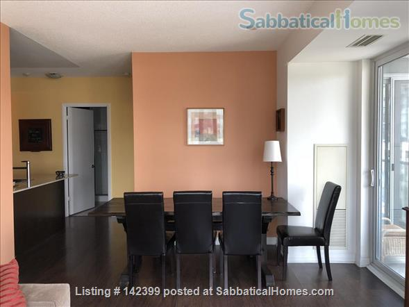 Sunny two-bedroom, two bath condo near downtown Toronto hospitals and universities, owned by Ryerson prof. Home Rental in Toronto, Ontario, Canada 0