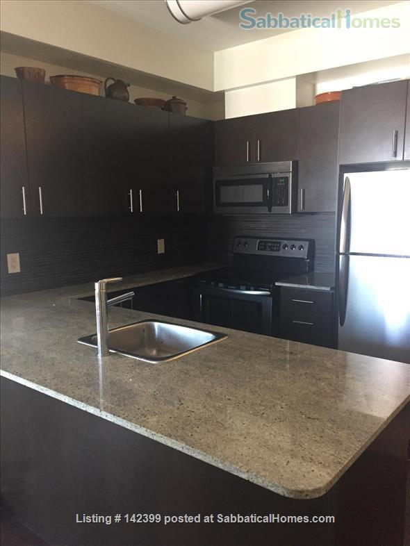 Sunny two-bedroom, two bath condo near downtown Toronto hospitals and universities, owned by Ryerson prof. Home Rental in Toronto, Ontario, Canada 5